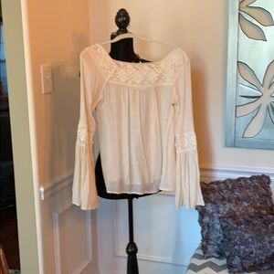 Peasant style BOHO blouse